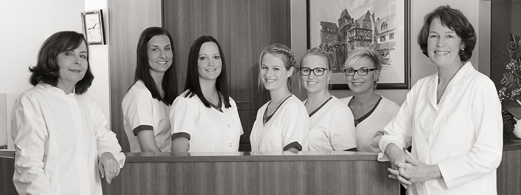 Teamfoto Hautarztpraxis Eggenfelden