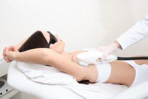 Laser-Therapie Diodenlaser Haarentfernung